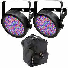 chauvet slimpar 56 led light chauvet slimpar 56 led flat par wall wash light pair protective