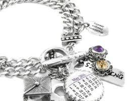 Graduation Jewelry Gift Graduation Charm Bracelet 2017 Graduate Graduation Gift