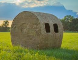 Redneck Hay Bale Blind Hay Bale Hunting Blinds Hunting Blinds And Mis Pinterest Box