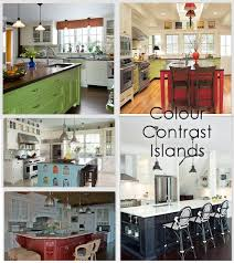 colorful kitchen islands inspired kitchen design ideas you won t regret dot com