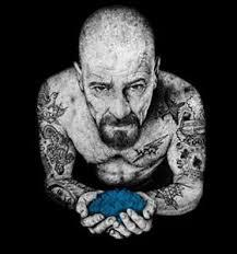 breaking bad walter white cook heisenberg blue meth gangster