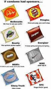 Pringles Meme - if condoms had sponsors funny memes daily lol pics