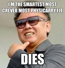 Kim Jong Il Meme - blackout i sudah mati tapi bukan bodoh lah scumbag kim