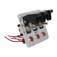lighted rocker switch 12v toggle switch panel 12v small momentary toggle switch panel ebay