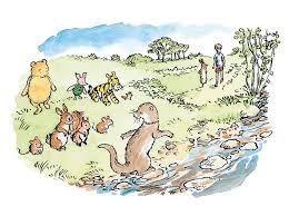 return acre wood winnie pooh david