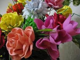 flores de foamy manitas creativas pasos para trabajar flores en foamy