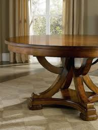 double pedestal dining table with leaves 54 round butterfly leaf