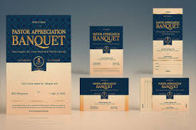 pastor appreciation template kit invitation templates creative