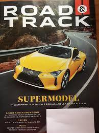 lexus lfa vs mercedes amg road u0026 track march april 2017 supermodel the stunning lc 500