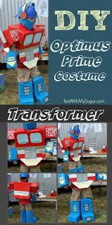 Transformer Halloween Costume Easy Diy Kid Costume Transformers Costumes Awesome