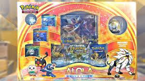 black friday pokemon cards pokemon cards solgaleo alola collection box opening first sun