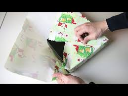 japanese wrapping method wrap gifts without any tape or ribbon using this japanese method