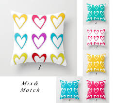 Purple Patio Cushions by Patio Pillow Cover Outdoor Pillow Colorful Pillow Heart