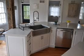 kitchen white quartz countertop installed in frankfort ny top