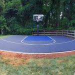 Backyard Basketball Hoops by Residential Outdoor Backyard Basketball Courts Sportprosusa