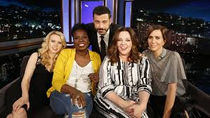 the social cast ghostbusters surprise reboot cast on kimmel hollywood reporter