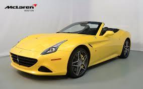 ferrari yellow 2015 ferrari california t for sale in norwell ma 205994 mclaren