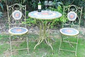 Mosaic Bistro Table Mosaic Bistro Table Mosaic Bistro Table Chairs Bemine Co