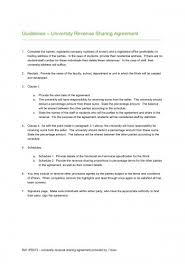 sample profit sharing agreement history of simple oil mining