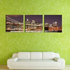 Home Decor New York by Popular New York Brooklyn Bridge Canvas Buy Cheap New York