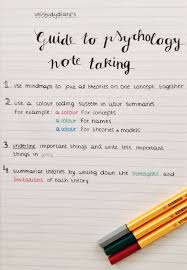 i always find it useful when people share their note taking tips
