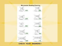 micrometer reading worksheet free worksheets library download