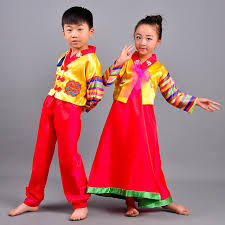 korean traditional dress hanbok for boys yellow pacific