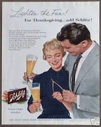 13 thanksgiving ads for cigarettes and booze