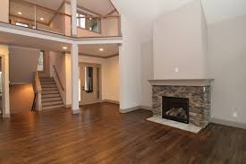 Two Story Fireplace Contemporary Mountain Home Plan U2013 Stanton Homes