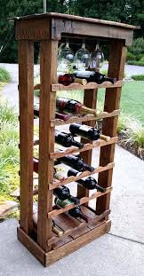 wine rack wine rack made from the staves of empty wine barrels