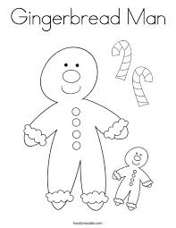 the gingerbread man coloring pages gingerbread man coloring page twisty noodle