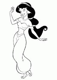 alladin coloring pages aladdin princess coloring page