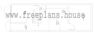 50 Sqm To Sqft by 15 45 Feet 62 Square Meters House Plan