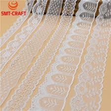 ribbon lace beautiful 10 yards white lace ribbon wide lace