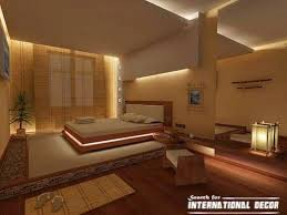 Japanese Style Bedroom With False Ceiling Design Ceiling Designs - Japanese interior design bedroom
