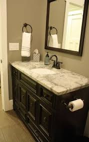 Bathroom Color Scheme by My Bathroom Colors For The Walls Trim And Cabinet Grey Walls