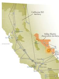 Iso Map California Independent System Operator Territory