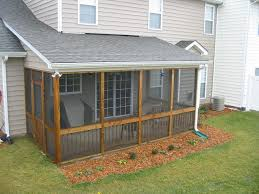 Patio Backyard Ideas Small Screened In Porch Designs Screened Patio Designs With