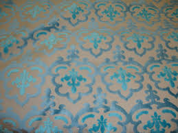 Blue Damask Upholstery Fabric 6 Best Images Of Blue Damask Fabric Blue And Green Damask