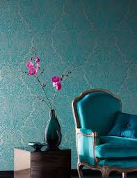 Wallpaper For Walls Teal And Pink Venetian Dreams Wallpaper Trends Lookbook Wallpaper From The 70s