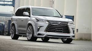 lexus uk lx 2016 lexus lx gets sporty kit from wald international autoevolution