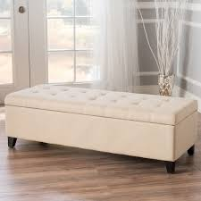 christopher knight home hastings tufted fabric ottoman bench mission tufted fabric storage ottoman bench by christopher knight