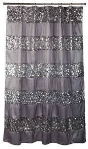 silver glitter shower curtain popular bath sinatra silver
