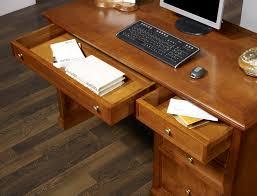 bureau louis philippe merisier bureau 5 tiroirs jeanne en merisier de style louis philippe
