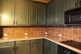 Light Colored Granite Kitchen Countertops White Decorative Ceramic Backsplash Brown Granite Countertop