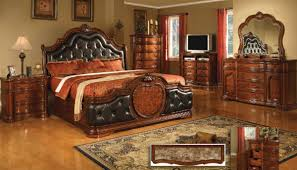 Antique Style Bed Frame Antique Style Cherry Finish Classic Bedroom W Optional Casegoods