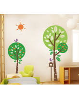 amazing deal on peaceful garden wall decal lime green leaf green