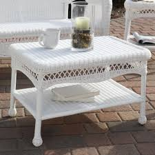 white wicker end table wicker white square side table a jpg indoor c thippo