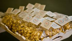 popcorn wedding favors favors culinary crafts