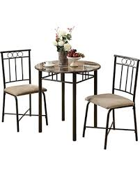 Marble Bistro Table Huge Deal On Monarch Specialties Bronze Metal And Cappuccino